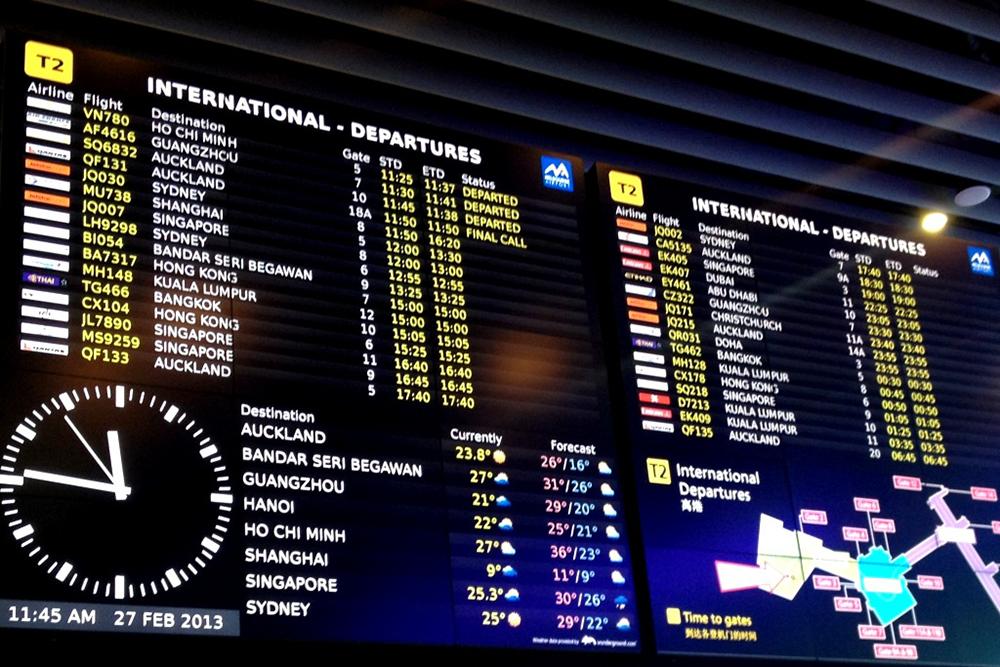 Melbourne-Airport-FIDS